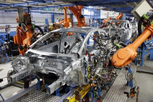 Ford Fiesta, Rohbau, Ford Werk Koeln-Niehl   ---   Foto: FORD/F.Stark