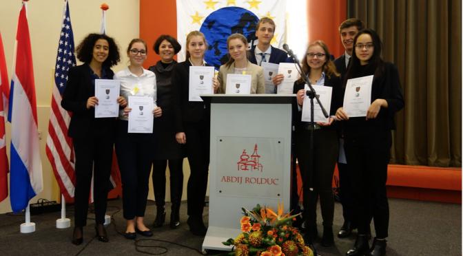 Fabritianer erfolgreich beim Model European Parliament
