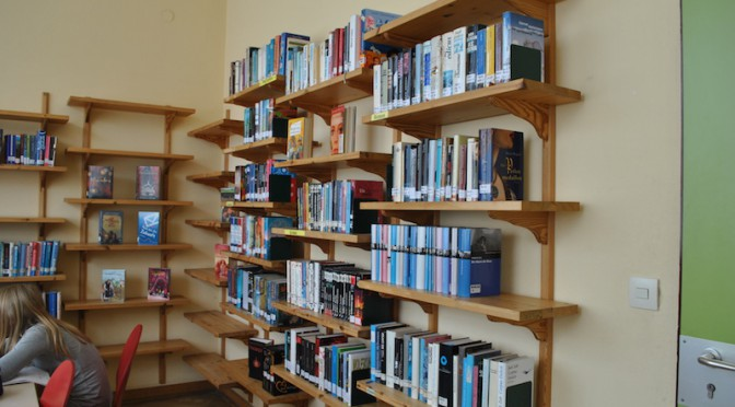 Renovierung der Schülerbibliothek