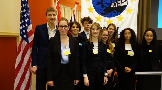 """Debattieren für die Zukunft Europas beim """"Model European Parliament"""""""